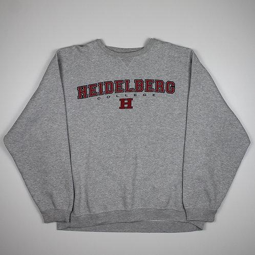 Vintage 'Heidelberg' Grey Sweater