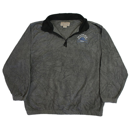 Vintage 'Madeira Basketball' Grey Fleece