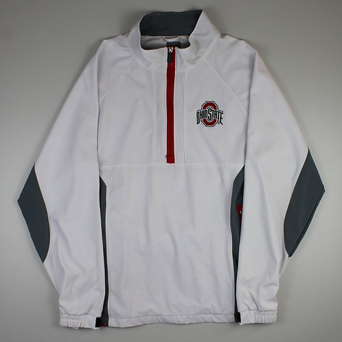 Vintage 'Ohio State' White Tracksuit Top