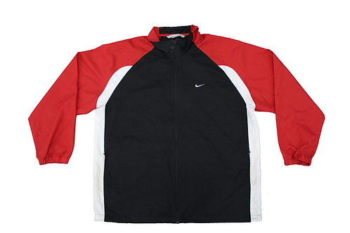 Nike Black & Red Tracksuit Top