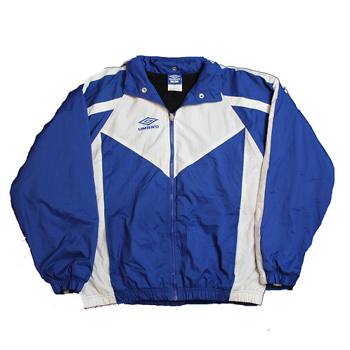 Umbro Blue & White Coat