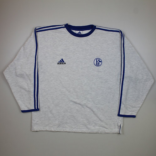 Adidas 'FC Schalke 04' Grey Sweater