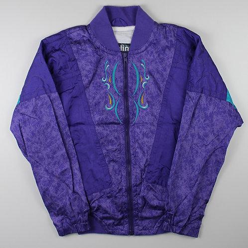 Vintage Purple Bomber Jacket