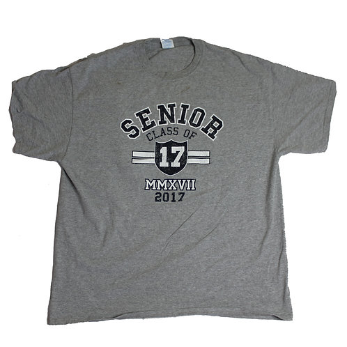 Vintage 'Class of 17' Grey T-shirt