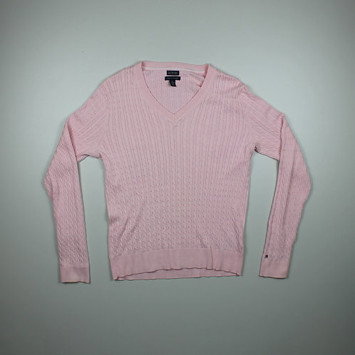 Tommy Hilfiger Pink Knitted Sweater