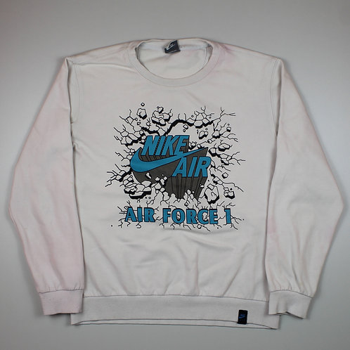 Nike 'Air Force 1' White Sweater