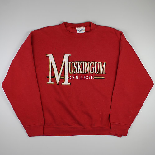 Vintage Red 'Muskingum' Sweatshirt