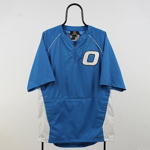 Vintage O Blue Short Sleeve Tracksuit Top