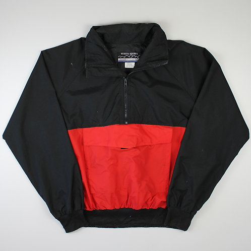 Vintage Black & Red Tracksuit Top