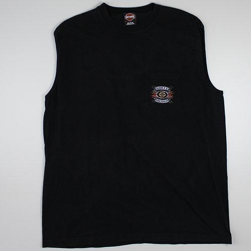 Harley Davidson 'Cleveland' Black Vest
