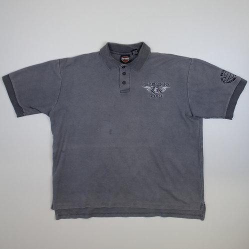 Harley Davidson Grey Polo