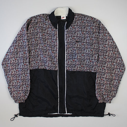 Nike Patterned Tracksuit Top