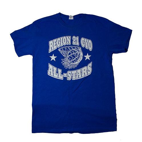 Vintage 'Region 21 All-stars' T-shirt
