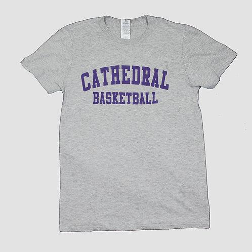 Vintage 'Cathedral Basketball' Grey T-shirt