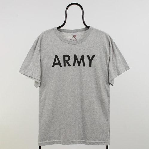 Vintage Grey Army TShirt