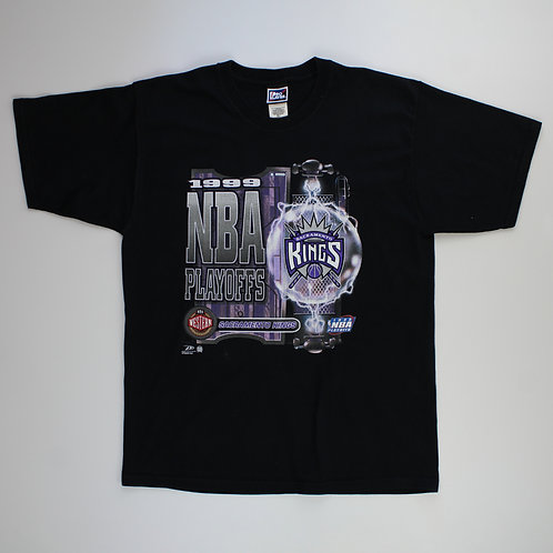 ProPlayer Vintage NBA 90s Sacramento Kings Black T-Shirt
