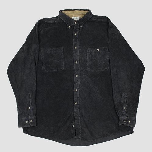 Vintage Black Corduroy Shirt