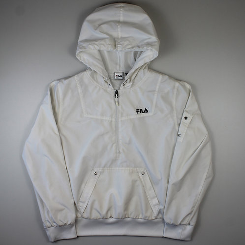 Fila White Tracksuit Top