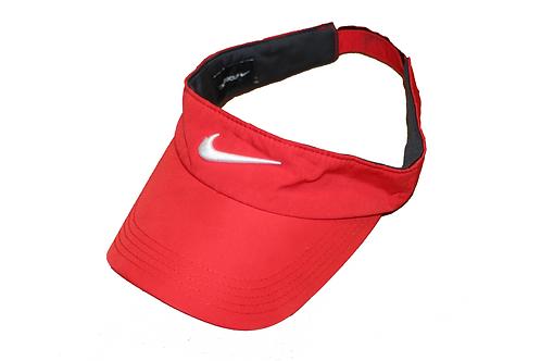 Nike Red Visor