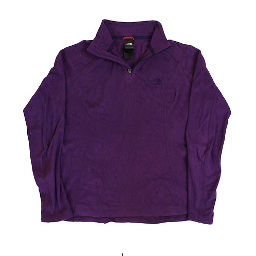 The North Face Lightweight Purple Fleece