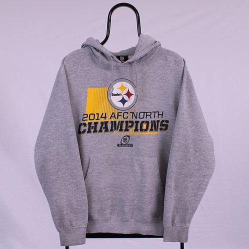 NFL Grey Steelers Hoodie