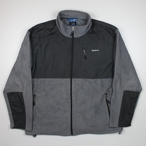 Reebok Dark Grey Fleeced Jacket