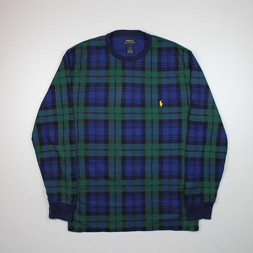 Ralph Lauren Green & Blue Sweater
