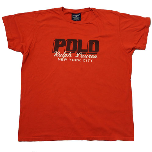 Ralph Lauren Orange T-shirt