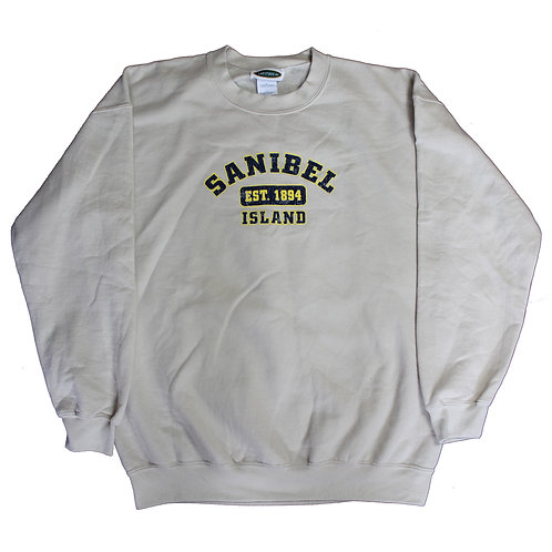 Beige Sanibel Island Sweater