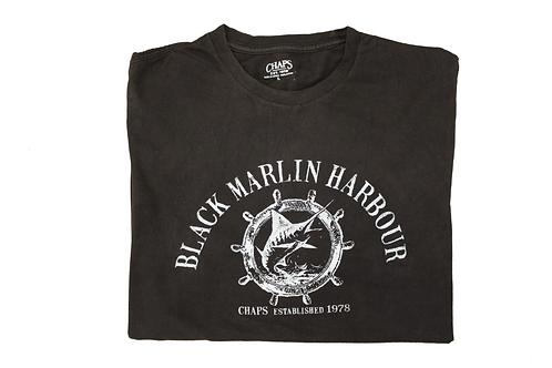Vintage 'Black Marlin Harbour' T-shirt
