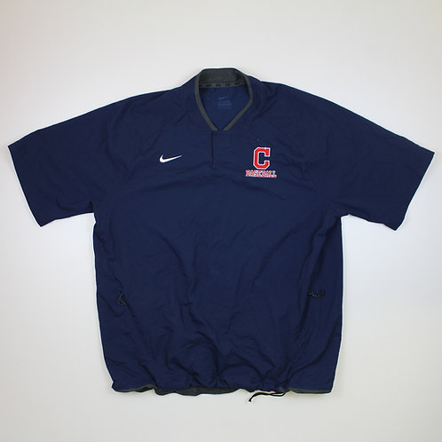 Nike 'Cleveland Indians' Navy Tracksuit Top