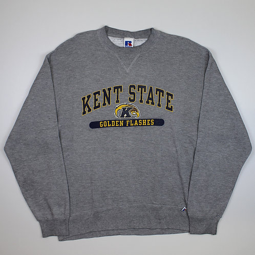 Russell Athletic 'Kent State' Grey Sweater