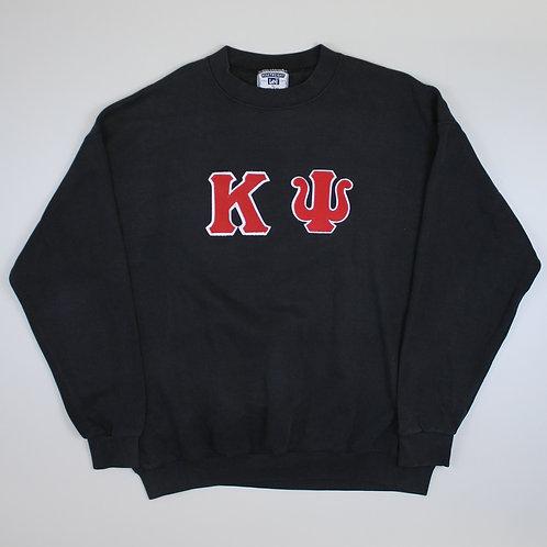 Lee Black 'KU' Sweatshirt
