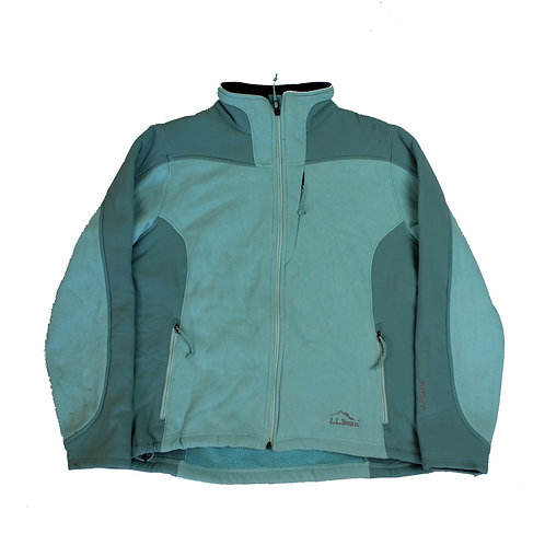 L.L.Bean Light Blue Fleece