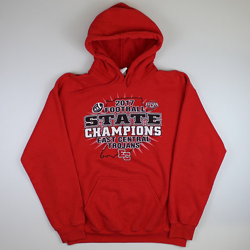 Red 'State Champions' Hoodie