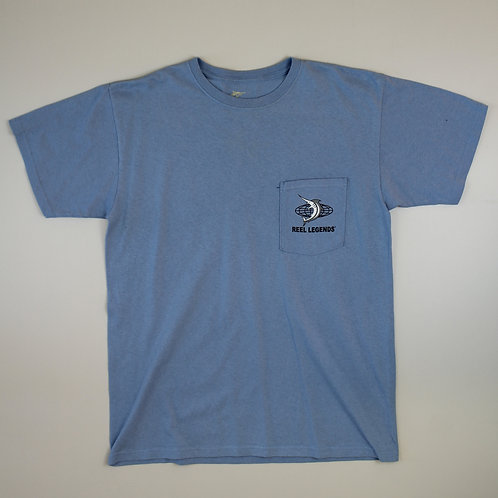 Vintage 'Reel Legends' Blue T-shirt