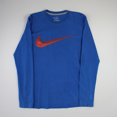 Nike Blue Long Sleeved T-shirt