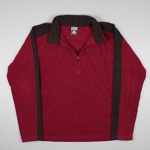 Nike Pink  1/4 Zip Fleece
