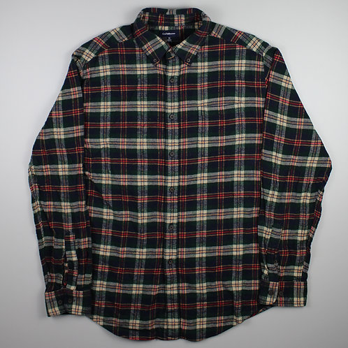 Vintage Checked Flannel Shirt