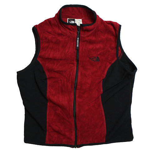 North Face Maroon Gilet