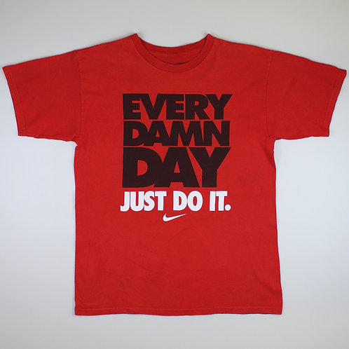 Nike Red 'Every Damn Day' T-Shirt