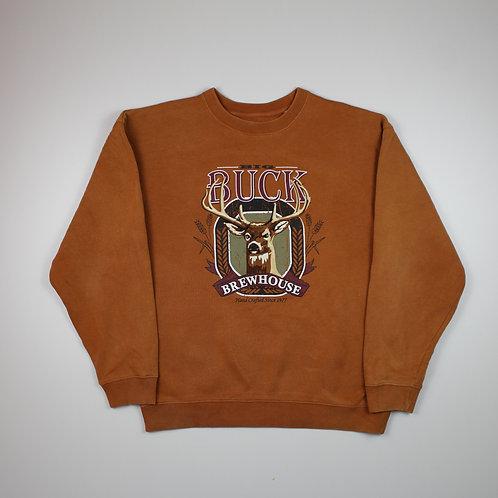 Vintage 'Big Buck' Brown Sweater