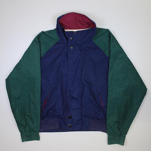 Vintage Sailing Green & Navy Jacket