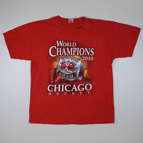 Vintage Chicago Hockey Red T-Shirt