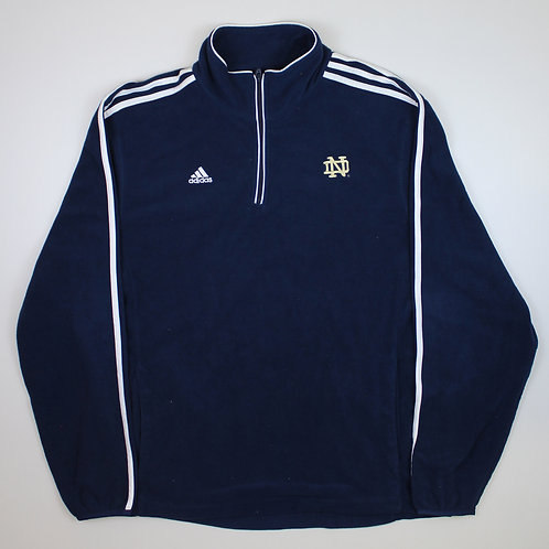 Adidas 'Notre Dame' Navy Fleece