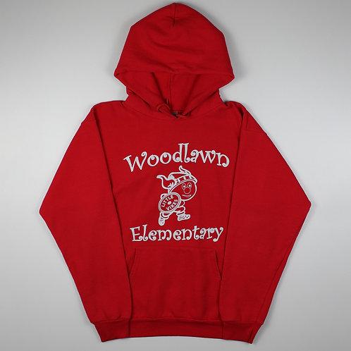 Vintage Red Woodlawn Hoodie