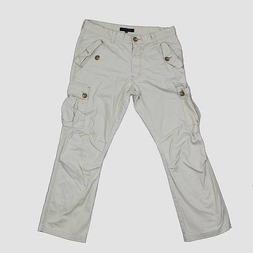 Tommy Hilfiger Cream Cargo Pants