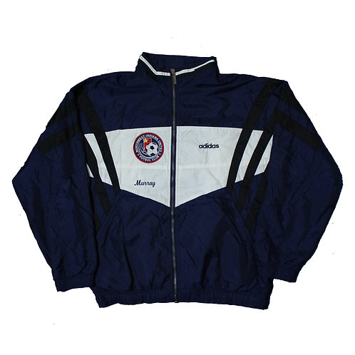 Adidas Indiana United  Navy Tracksuit Top