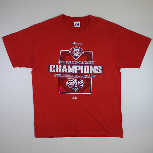 Majestic Red 'Phillies' T-Shirt