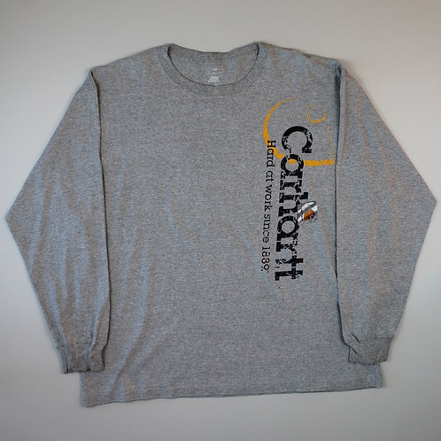 Carhartt Grey Long Sleeved T-Shirt